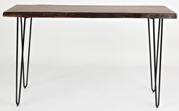 Jofran Furniture Natures Edge Light Chestnut Solid Acacia 50 Inch Sofa Console Table JFN-1780-4
