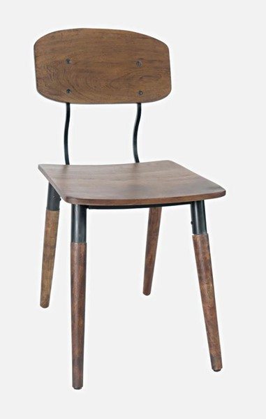 Jofran Furniture Natures Edge Light Chestnut Solid Acacia Dining Chairs JFN-178-340-DR-CH-V