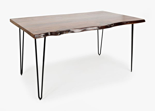 Jofran Furniture Natures Edge Light Chestnut 60 Inch Dining Table JFN-1781-60