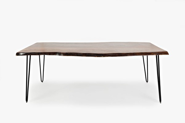 Jofran Furniture Natures Edge Light Chestnut 79 Inch Dining Table JFN-1781-79
