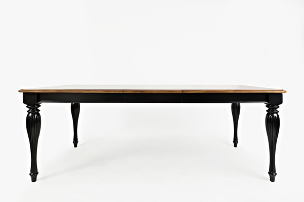 Jofran Furniture Castle Hill Antique Black Rectangle Dining Table JFN-1786-84