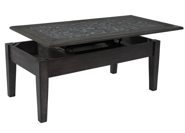 Jofran Furniture Grey Mosaic Lift Top Cocktail Table JFN-1798-5