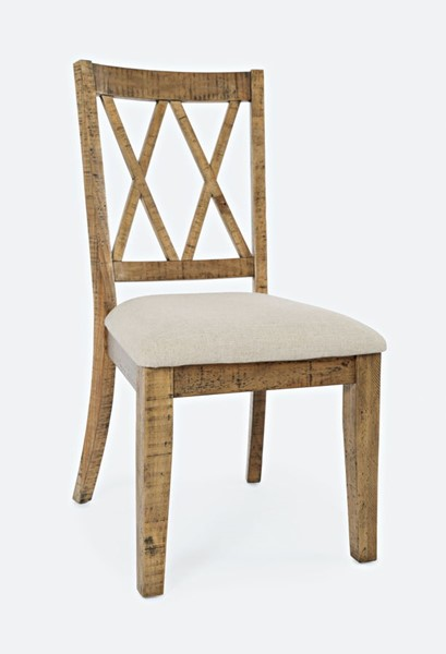 2 Jofran Furniture Telluride Naturally Distressed Dining Chairs JFN-1801-401KD
