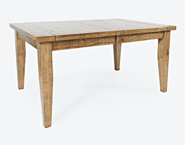 Jofran Furniture Telluride Naturally Distressed Extension Dining Table JFN-1801-78