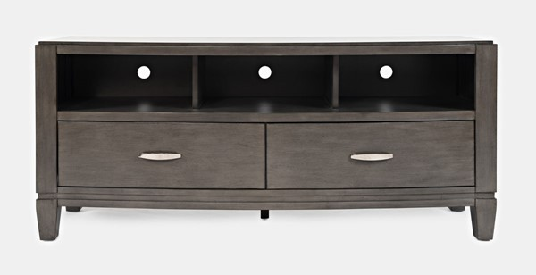 Jofran Furniture Scarsdale Grey 70 Inch Media Unit JFN-1832-70