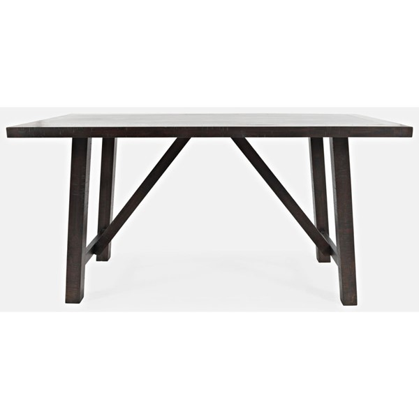 Jofran Furniture American Rustics Counter Height Trestle Table JFN-1839-72