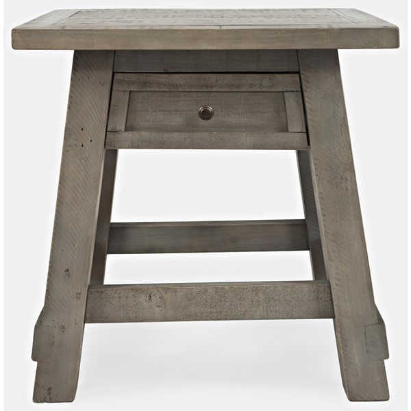Jofran Furniture Outer Banks Driftwood Power End Table JFN-1840-3