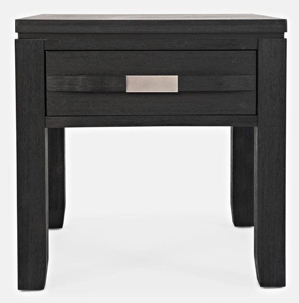 Jofran Furniture Altamonte Dark Charcoal Square End Table JFN-1850-3