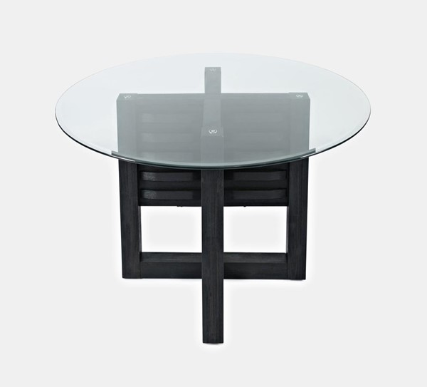 Jofran Furniture Altamonte Glass Top Round Dining Tables JFN-1851-DT-VAR