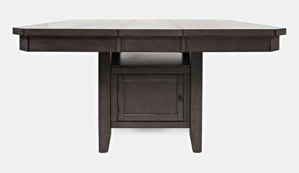 Jofran Furniture Manchester Grey High and Low Square Dining Table JFN-1872-54TBKT