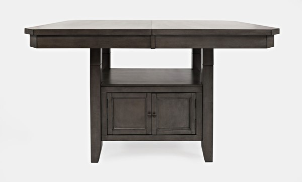 Jofran Furniture Manchester Grey High Low Rectangle Dining Table JFN-1872-78TBKT