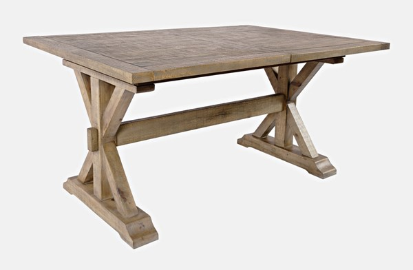 Jofran Furniture Carlyle Crossing Solid Pine Extension Dining Table JFN-1921-78DNGKT