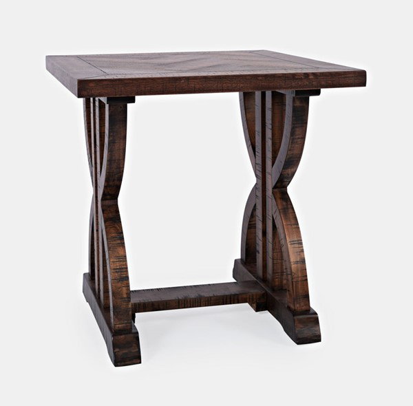 Jofran Furniture Fairview Oak End Tables JFN-193-3-ET-V