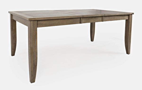 Jofran Furniture Prescott Park 74 Inch Extension Dining Table with Tile Inlay JFN-1936-42