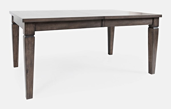 Jofran Furniture Lincoln Square Medium Brown Extension Dining Table JFN-1959-84