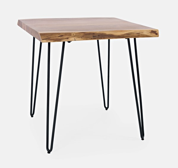 Jofran Furniture Natures Edge Natural 24 Inch Square End Table JFN-1984-3