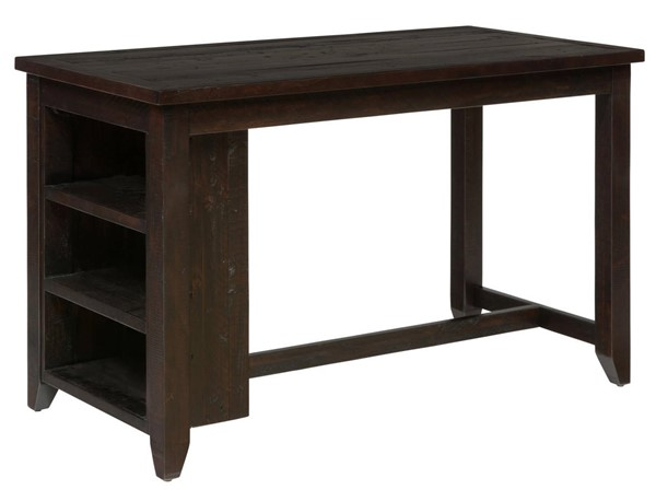 Prospect Creek Casual Wood Reclaimed Pine Counter Height Dining Table JFN-257-60