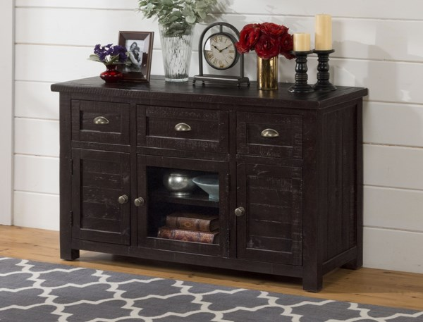 Prospect Creek Casual Brown Wood 50 Inches Media / Storage Unit JFN-260-50