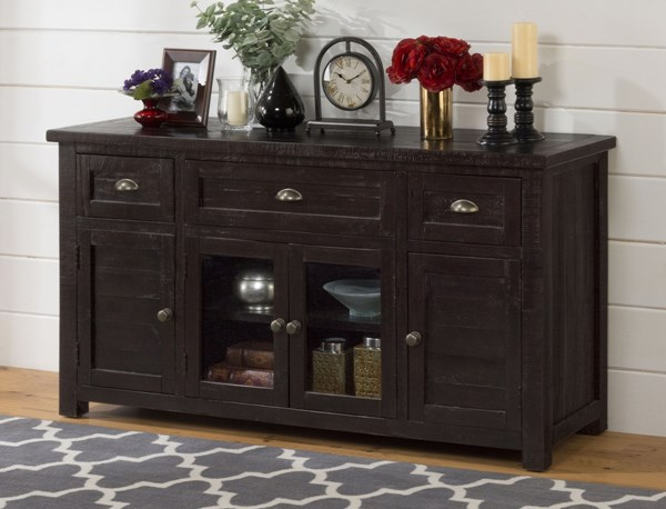 Prospect Creek Casual Pine Wood 60 Inches Media / Storage Unit JFN-260-60