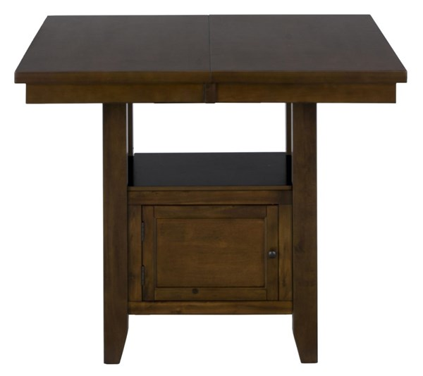 Taylor Contemporary Cherry Brown Wood Counter Height Table JFN-337-54
