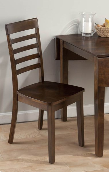 2 Taylor Contemporary Cherry Wood Slat Back Dining Chairs JFN-342-912KD