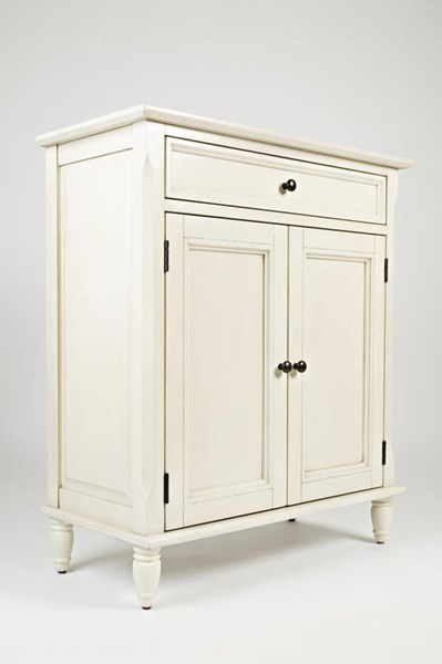 Avignon Wood Accent Drawer Two Doors & Turned Legs Cabinets JFN-390-AC-VAR