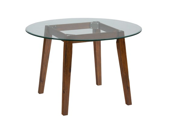 Plantation Casual Wood Round Dining Height Table Base JFN-505-48B