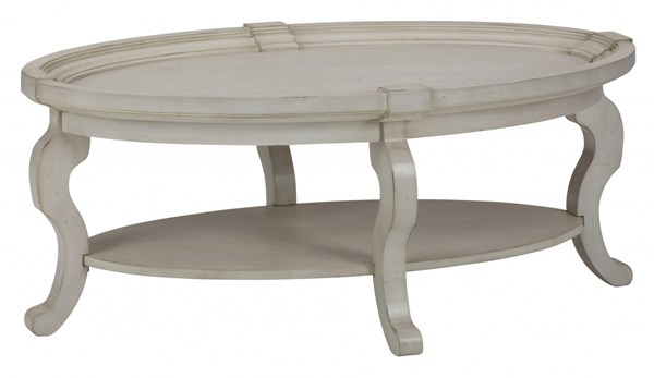 Jofran Furniture Sebastian Cream Oval Cocktail Table JFN-540-1