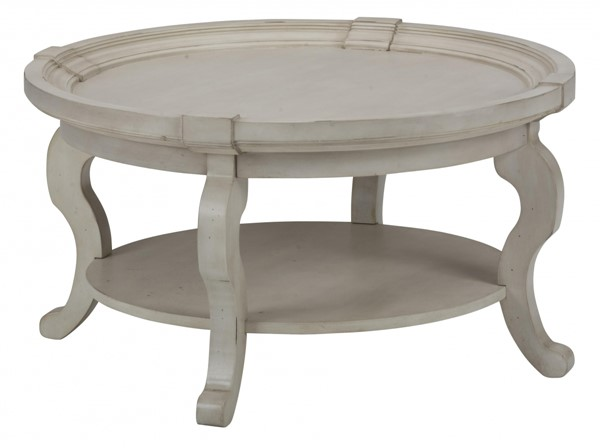 Jofran Furniture Sebastian Cream Round Cocktail Table JFN-540-2
