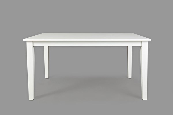 Jofran Furniture Simplicity Paper White Rectangle Dining Table JFN-652-60