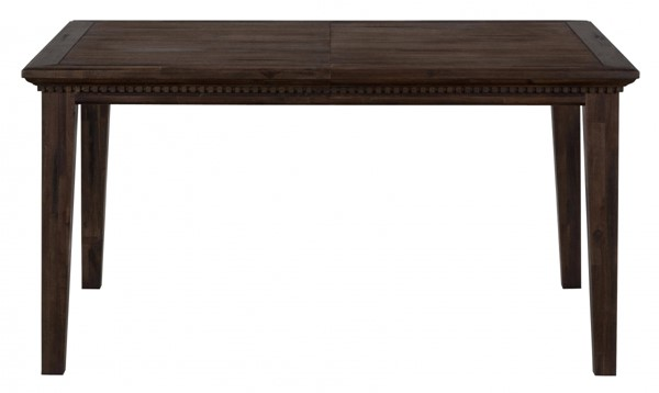 Geneva Hills Traditional Brown Wood Dining Table w/Extension Leaf JFN-678-78
