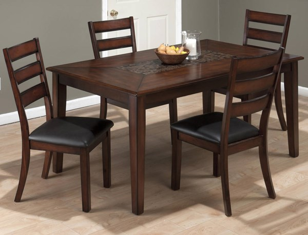 Baroque Contemporary Brown 5pc Dining Room Complete Set JFN-697-64-923-DR