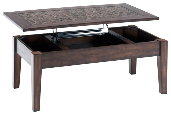 Jofran Furniture Baroque Brown Lift Top Cocktail Table JFN-698-5