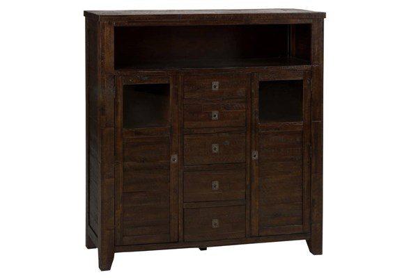 Kona Grove Casual Chocolate Wood 5 Assembled Drawers Cabinet JFN-705-89