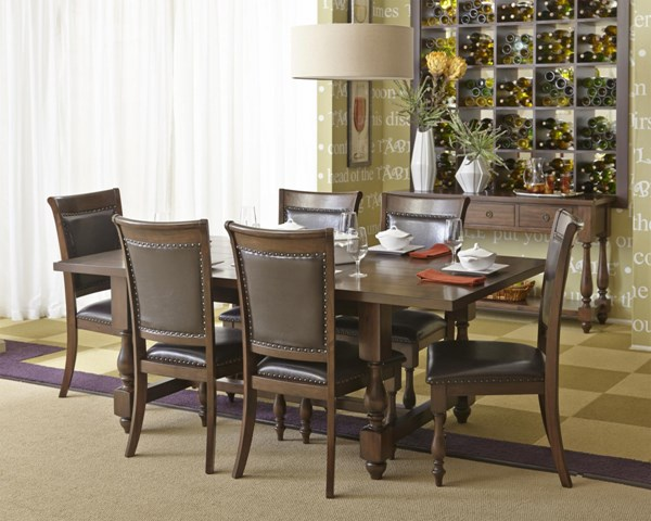 Grand Havana 5pc Dining Room Set w/Extension Leaf Dining Table JFN-723-DR-S1