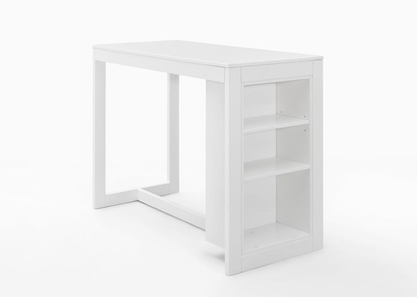 Jofran Furniture Tribeca White Counter Height Table JFN-816EC-48