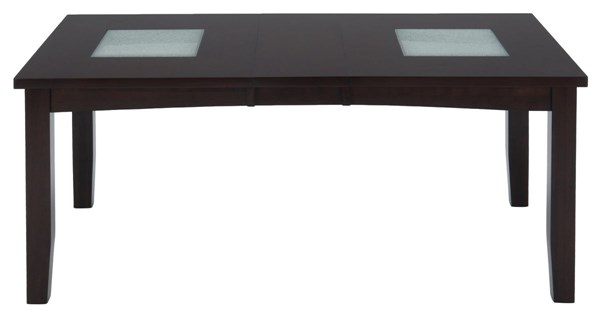 Chadwick Contemporary Espresso Wood Rectangle Table JFN-863-72
