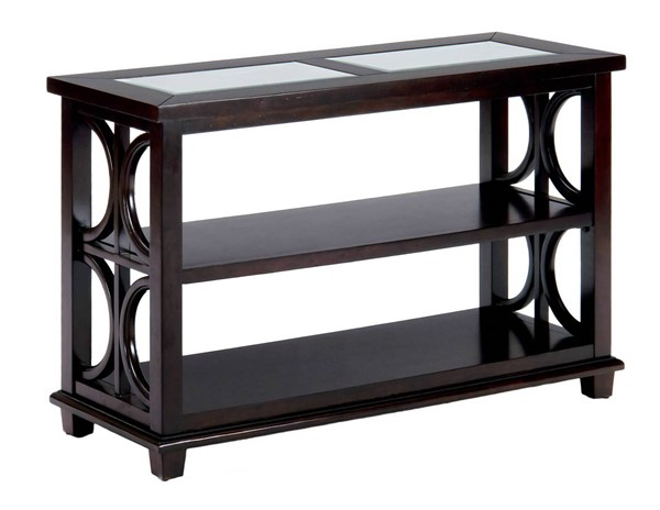 Jofran Furniture Panama Brown Sofa Media Unit JFN-966-4