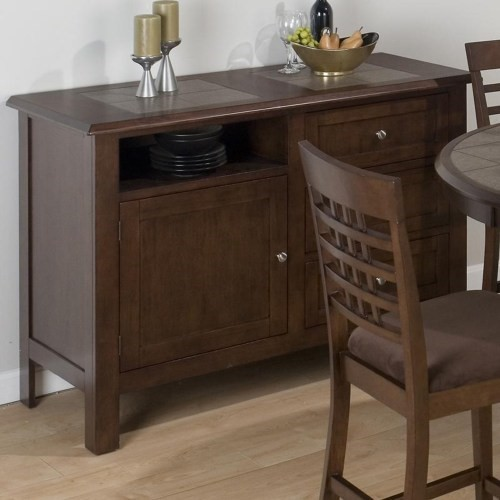 Jofran Furniture Caleb Brown Server JFN-976-95