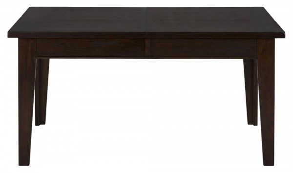 Legacy Casual Oak Veneer Dining Table w/Take Out Lead & Two Drawers JFN-981-78