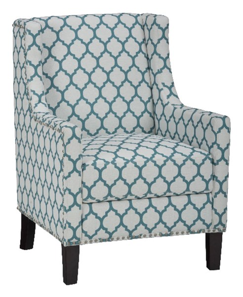 Jeanie Contemporary Wood Polyester Accent Chairs JFN-JEANIE-CH-VAR