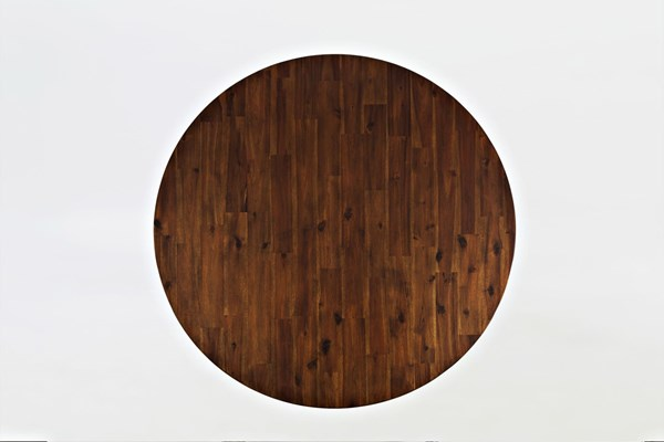 Coolidge Corner Casual Solid Wood Round High / Low Table Top JFN-1501-48T