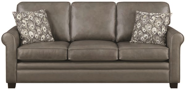 Jennifer Furniture Jean Gray Sofa JNF-D72R72-15