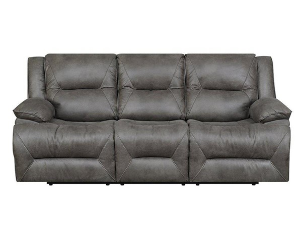 Jennifer Furniture Ann Taupe Reclining Sofa JNF-MNY1704-47
