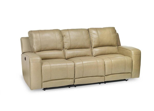 Jennifer Furniture Terrence Beige Power Sofa JNF-MNY2156-BEIGE-PWR-SF