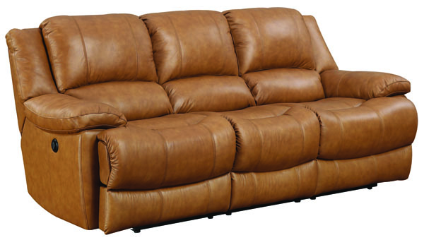 Jennifer Furniture Marshall Tan Power Sofas JNF-MNY1404-PWR-SF-VAR