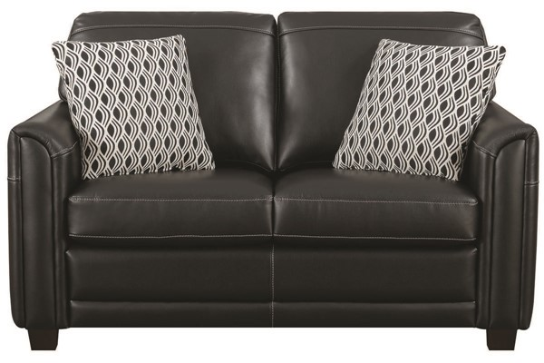 Jennifer Furniture Ruth Black Loveseat JNF-X4465-LS