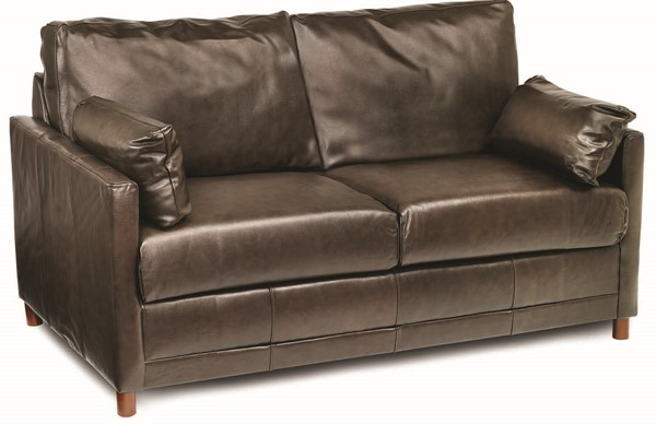 Jennifer Furniture Softee Chocolate Full Sleeper Sofa