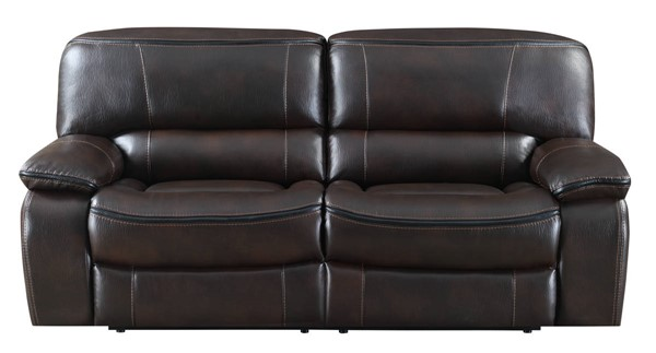 Kian USA Wilmington Brown Power Reclining Sofa KIAN-11-50-32P