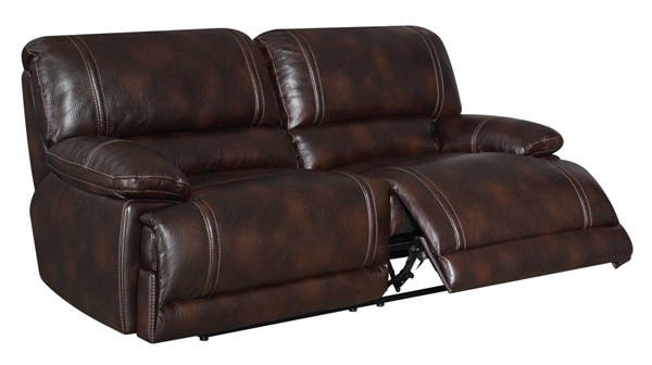 Kian USA Brookfield Brown Reclining Sofa KIAN-96-00-32R